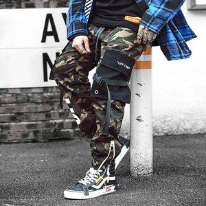 Men Camouflage Joggers Cargo Pants
